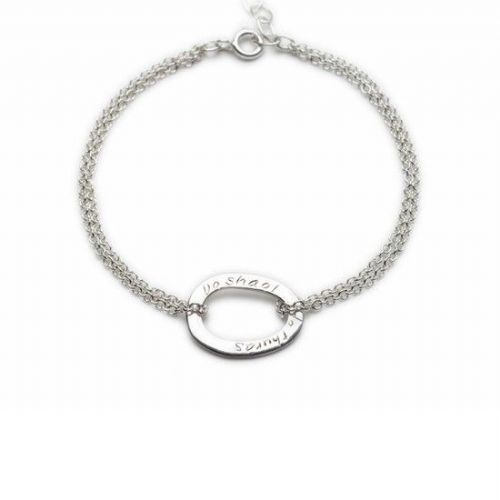 Enibas Your Life Silver Bracelet SALE